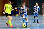 Arma Women Cup - mezinárodní fotbalový turnaj žen v Ústí n/L. Utkání Serkowitzer FSV - Ústí n/L (modrobílé).