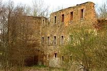 MECHELGRÜN – původně chebské rodové sídlo rodiny Nothaftů připadlo posléze rodu Rabe.