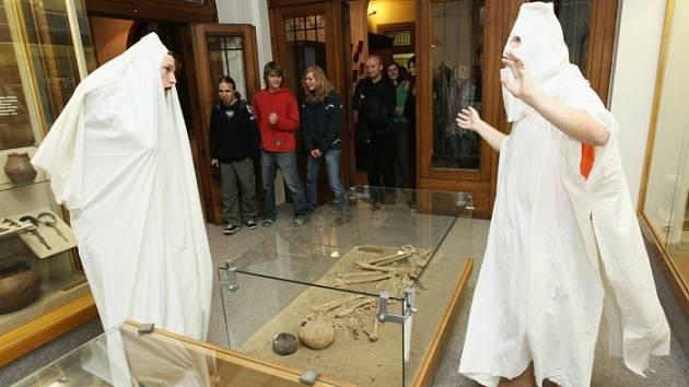 Muzejní noc v Litoměřicích.