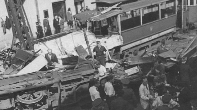 Tramvajové neštěstí z roku 1947