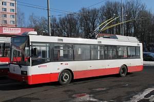 Trolejbus Škoda 21Tr po rekonstrukci