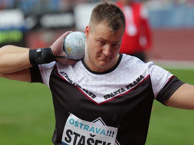 Koulař Martin Stašek.