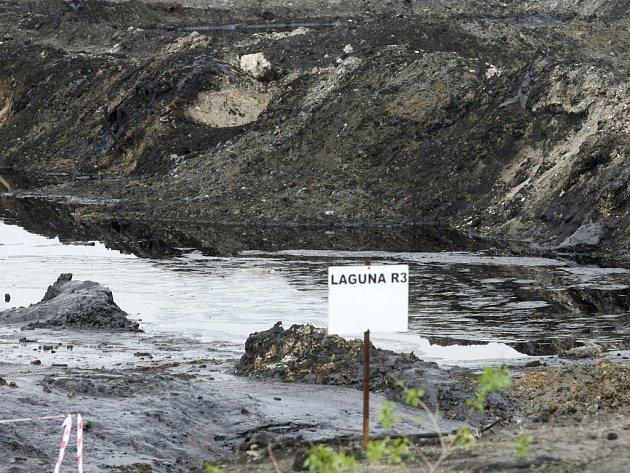 V ostravských lagunách je stále sto tisíc tun kalů. Skončí opět v Ústeckém kraji?