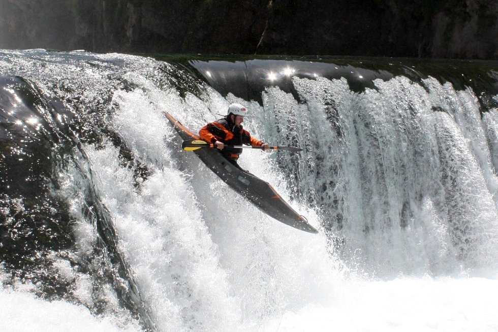 Adrenalin na kajaku v Bosně.