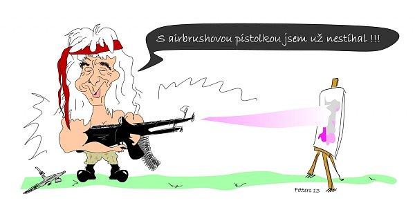 Karikatura: Karel Kopic.