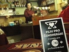 Jedna koruna z každého vypitého piva půjde z hospody Resslovka na Klíši na podporu Činoherního studia.