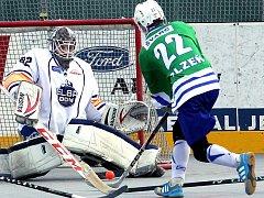 Ústečtí hokejbalisté budou na turnaji Českého poháru v Pardubicích spoléhat na dobré výkony svého brankáře Zdeňka Bandy.