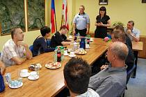 Středeční tisková konference s ústeckým Toxi týmem.