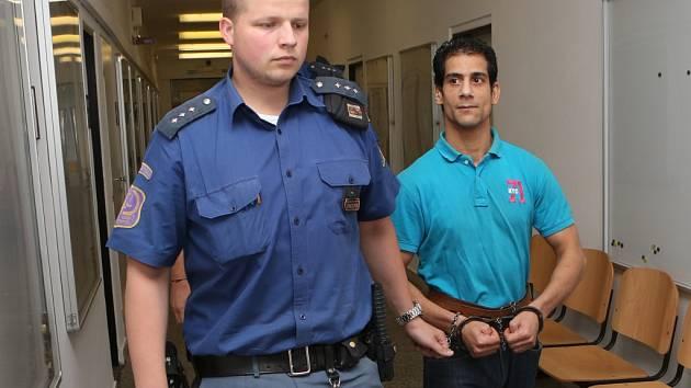 Juraje Zajace (vpravo) odsoudil ústecký krajský soud na 14 let do věznice se zvýšenou ostrahou.
