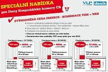 Speciální nabídka pro členy Hospodářské komory ČR.