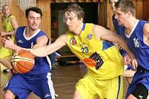 Basketbalisté Slunety USK Ústí. Ilustrační foto.