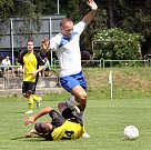 Fotbalisté Trmic doma přehráli Chlumec (žlutí) 3:2.