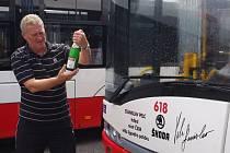 Nové trolejbusy pokřtili ústečtí sportovci.