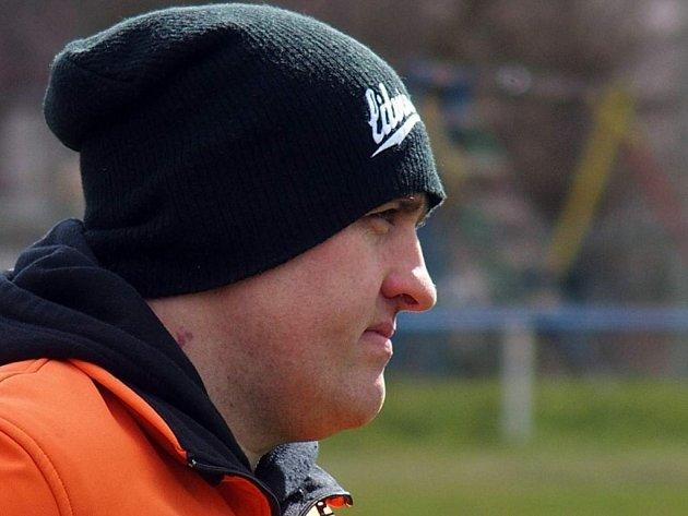 Chabařovický trenér Aleš Miltner.