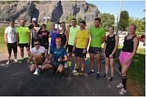 Až z Etiopie přijeli povzbudit ústecké běžce Jiří Csirik a David Vaš