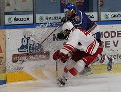 Přípravný hokejový zápas Litoměřice a Slavie Praha 2018/2019
