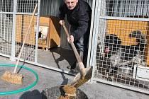 Fotoreportér Deníku se v rámci reportáže Na vlastní kůži stal na jeden den ošetřovatelem psů v útulku pro opuštěná zvířata v Litvínově na Mostecku.