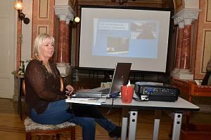Spisovatelka Danka Šárková představila v Trmicích svou první pohádku