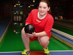Anežka Motejlová se chystá na své první mistrovství republiky.