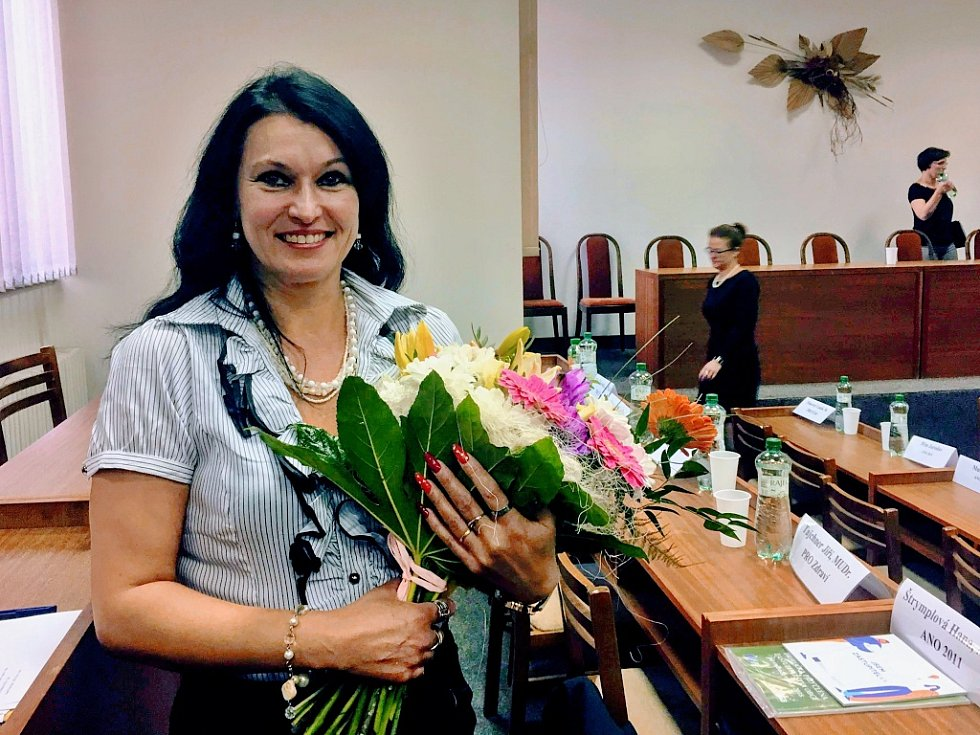 Starostka centrálního obvodu Hana Štrymplová.