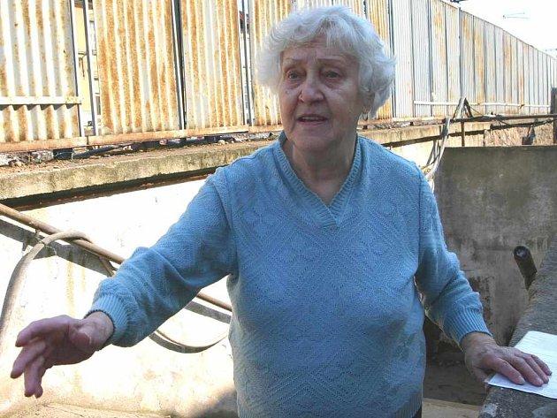 Marie Durchánková si stěžuje, že se nebude moci dostat na nádraží