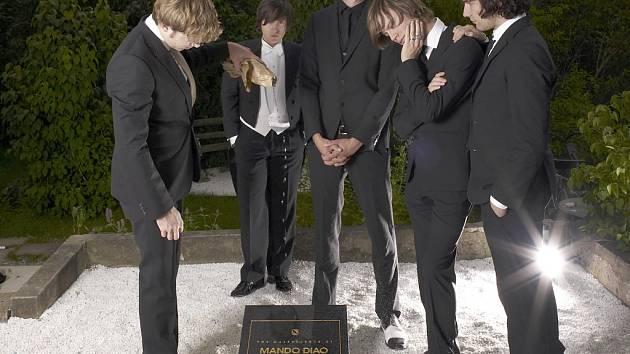 Švédská indie rocková kapela Mando Diao.