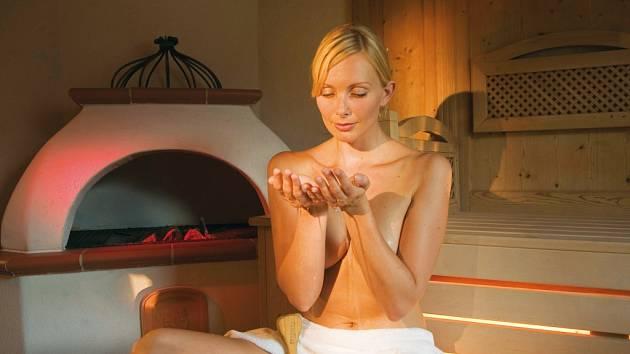 Sauna v zimě povzbudí. Ilustrační foto.