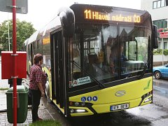 Solaris Urbino 18 jezdí zkušebně v Ústí.