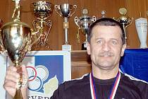 Trenér Miroslav Vrba dovedl ústecké boxery k obhajobě mistrovského titulu.