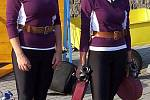 Hasiči jak je běžně neznáte – mají opasek, helmu,ale sportovkyně nezapřou – jako závodnice z družstva SDH Poniklá.