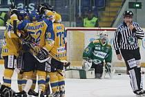 Ústečtí hokejisté svedli i v šestém barážovém utkání proti Mladé Boleslavi spoustu osobních soubojů.