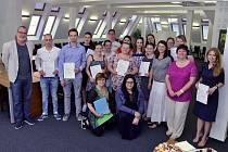 Na FF UJEP se podruhé udělovaly certifikáty kurzu didaktiky německého jazyka.