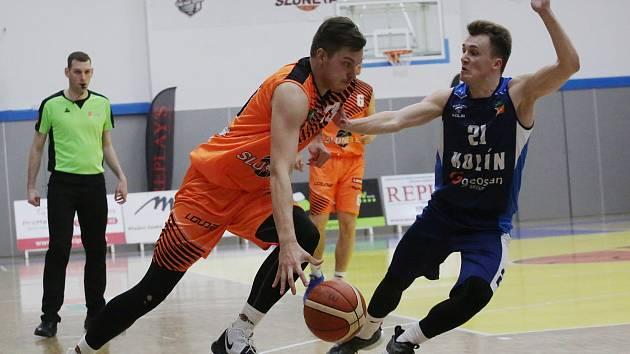 Basketbalový zápas Ústí a Kolín, předkolo play-off 2018/2019