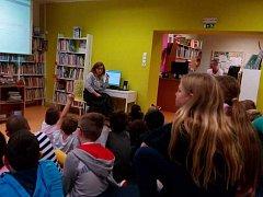 Petrovické děti se zúčastnily interaktivního programu ústecké knihovny