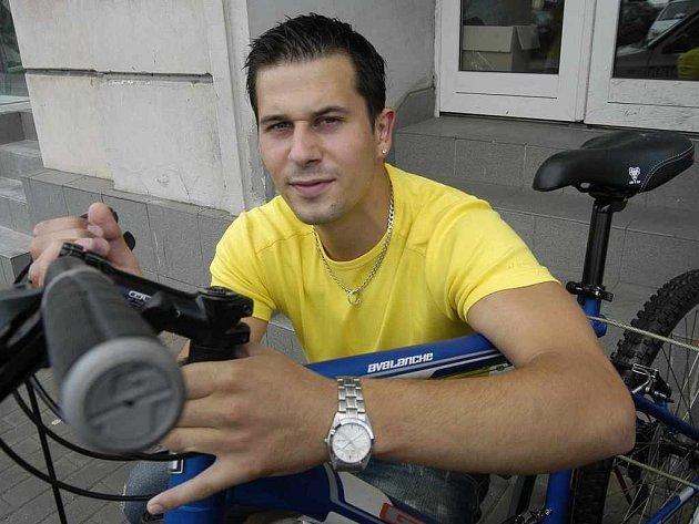 Roman Pokrupa musí za jízdnu na kole pod vlivem alkoholu zaplatit pokutu