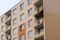 Požár na balkoně bytovky v Mošnově ulici v Ústí nad Labem