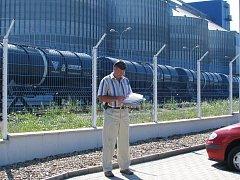 Martin Sommer ze stavebního úřadu v Trmicích