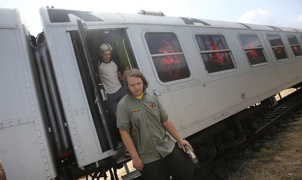 Do Ústí nad Labem dorazil preventivní protidrogový vlak.