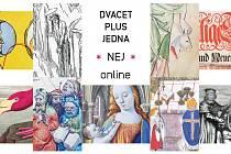 Nej Severočeské vědecké knihovny v Ústí je možné vidět online až do 28. února.