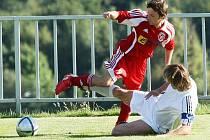 Fotbalisté Neštěmic v Modré remizovali 2:2.