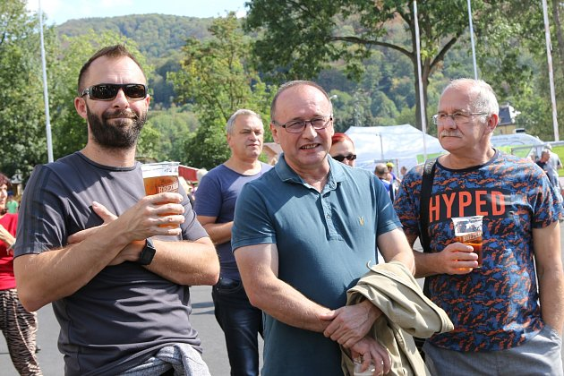 Den otevřených dveří v pivovaru Velké Březno.