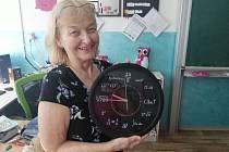 Žáci třídy 9.C ze ZŠ Vojnovičova poděkovali učitelce matematiky Evě Radimské