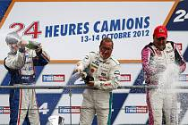 ME tahačů v Le Mans - David Vršecký dojel druhý (vlevo).