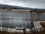 Zima u jezera Milada.