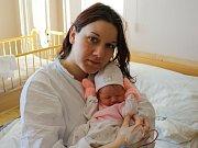 Natálie Pohunková se narodila v ústecké porodnici 28. 3. 2017 (5.52) Blance Pohunkové. Měřila 48 cm, vážila 2,92 kg.