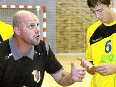 Trenér ústeckých házenkářů Tomáš Velek.