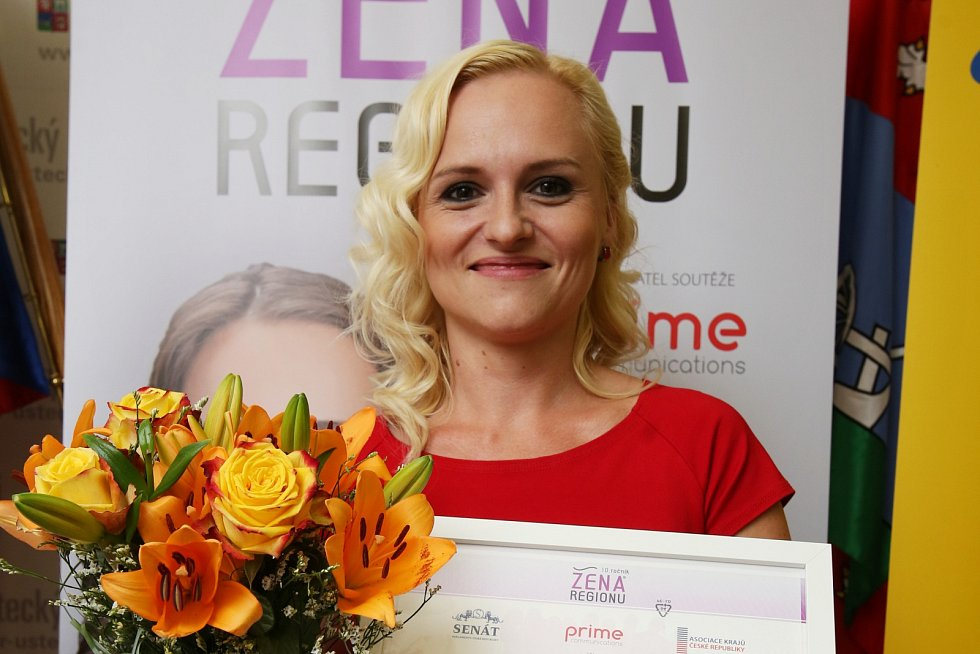 Šárka Pravdová se stala Ženou regionu za Ústecký kraj.