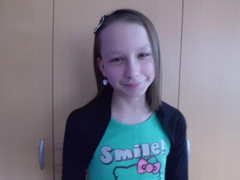 59. KAROLÍNA MÜLLEROVÁ, 10 let, Česká Kamenice.