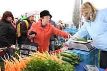 Farmářské trhy na Střekově.