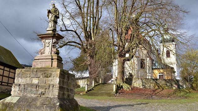 Po stopách starých pohlednic - ústecké kostely .